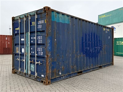 Used Container TITAN Containers Shipping Container