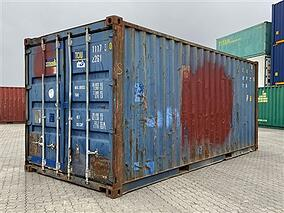 Grade C TITAN Containers Shipping Container