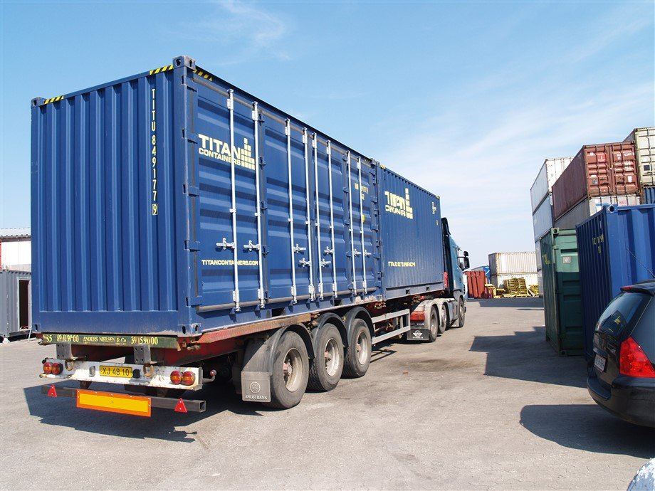 HIAB Transport storage containers